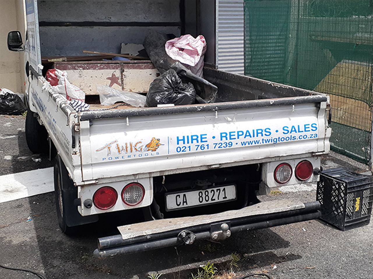 Twig Powertools Vehicle Branding