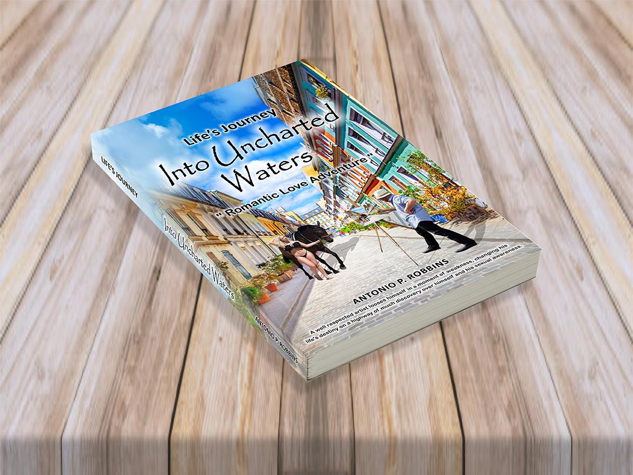 Anotonio P Robbins Book Cover Design
