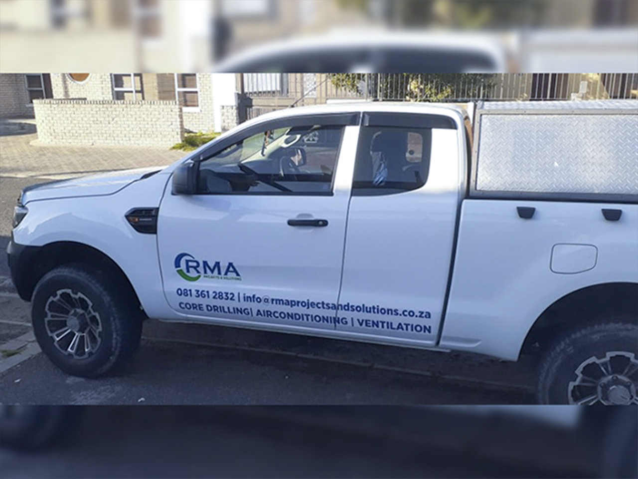 RMA Projects and Solutions Vehicle Branding
