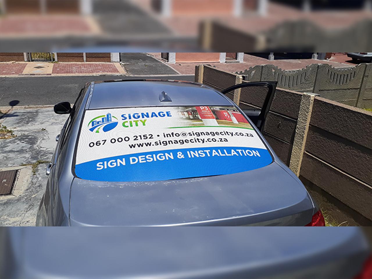 Signage City Vehicle Branding
