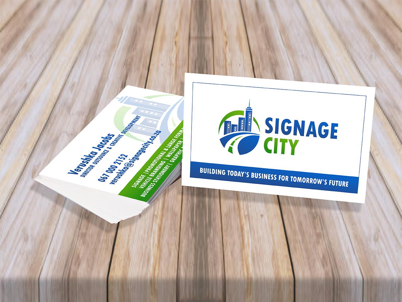 Sigange City Business Cards